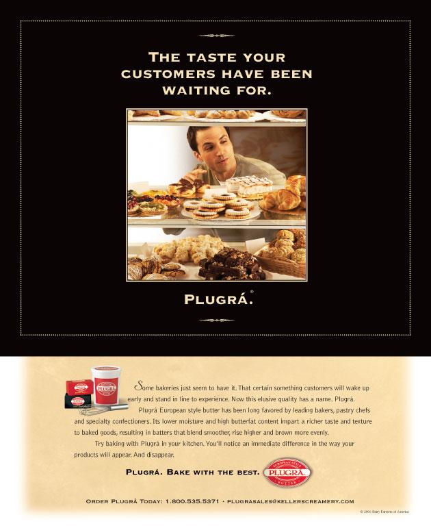 Customer Ad for Plugrá Butter