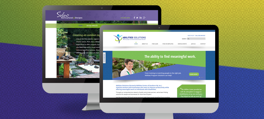 Website Designs for Solow Horticultural Designs and Abilities Solutions
