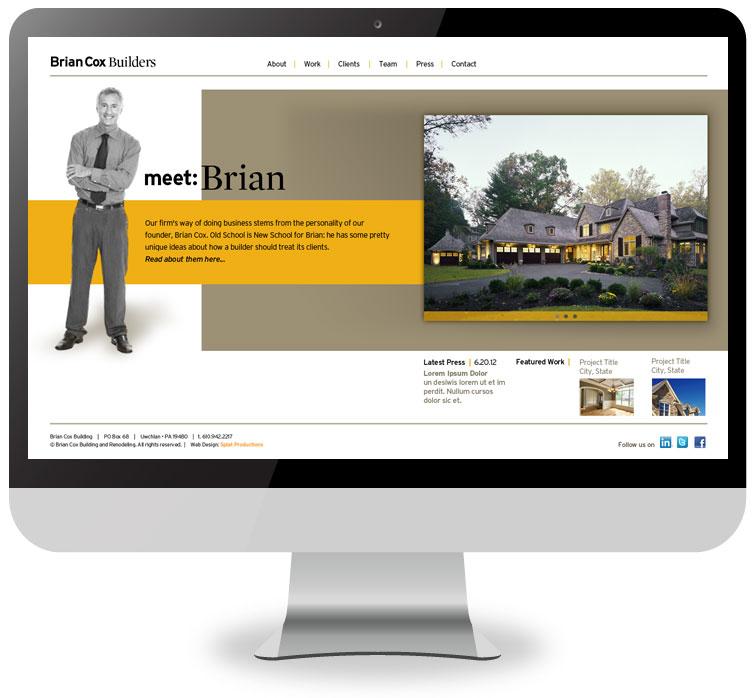 Brian Cox Builders Website